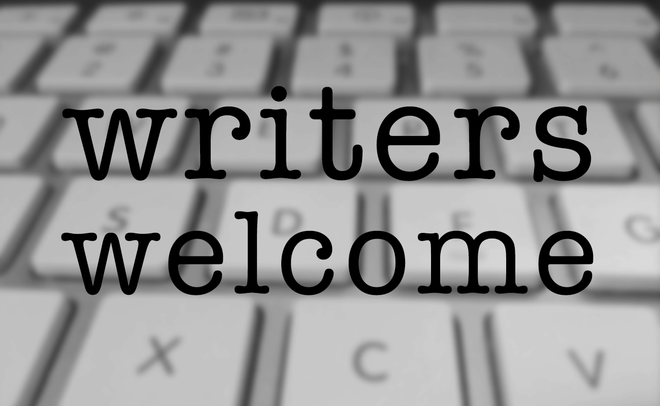 writers welcome
