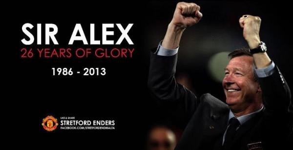 Karir panjang Sir Alex Ferguson bersama Manchester United
