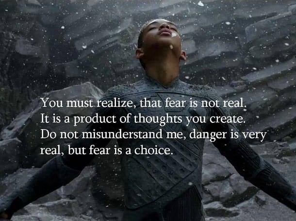 fear is not real Fear Is Not Real (Fear Is A Choice)